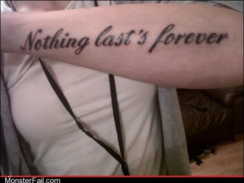 Funny tattoos Ugliest Tattoos Wrong