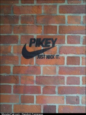 Quality British graffiti