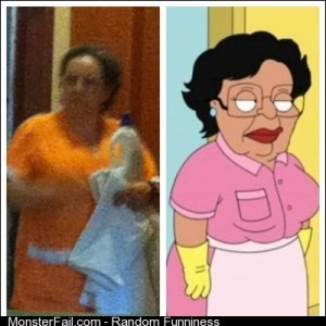 Oh my god shes real picstitch consuela familyguy funny reallife maid funnystuff funnypics