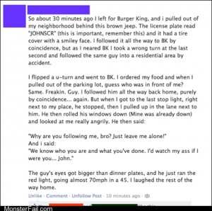 Funny facebook fails Accidental Stalker WIN