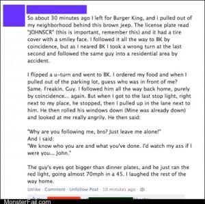 Funny facebook fails Accidental Stalker WIN