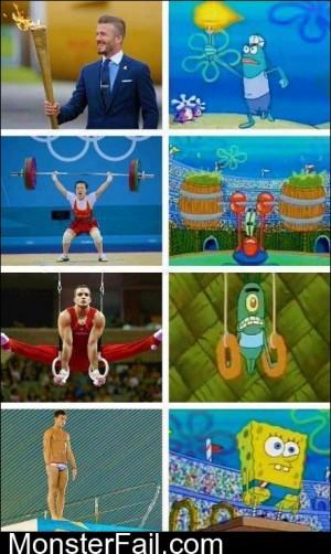 Spongebob Olympics