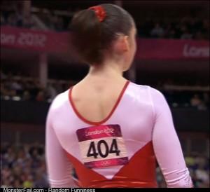 Gymnast not found