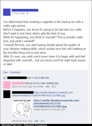 The Truth About Smoking Cigarettes