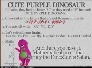 Barney is Satan