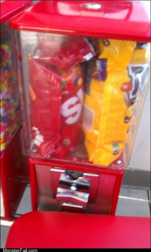 Monster fail Candy Dispenser FAIL