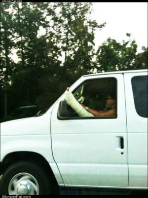 Driving in comfort