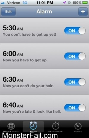 Women Alarm Clock