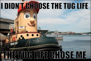 Teddy the Thugboat