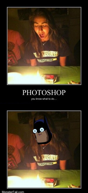 Need picture why not batman