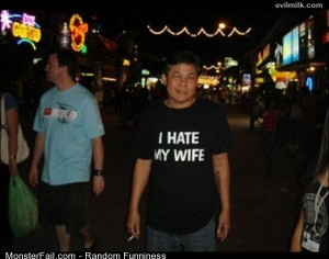 Funny Pics Hate My Wife