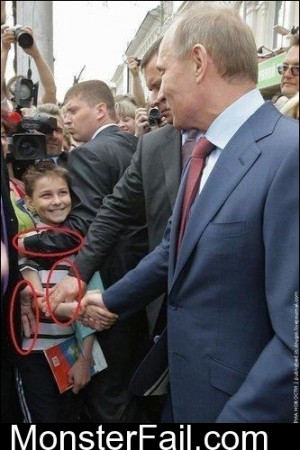 How Putin Handshakes