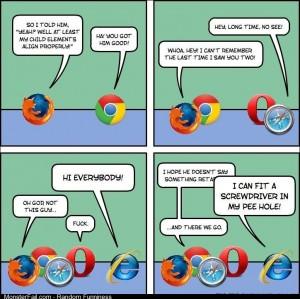 Internet browser meeting
