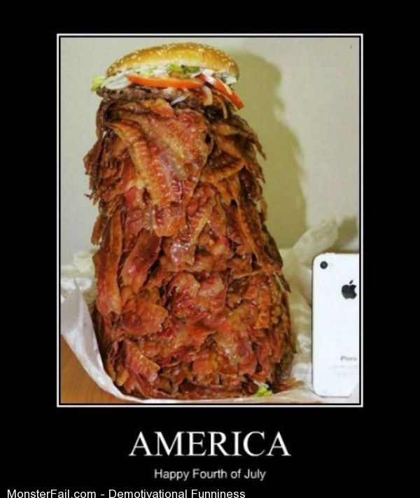 Demotivational  Motivational Happy 4th Of July