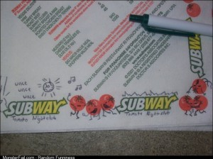 Subway Tomato Nightclub