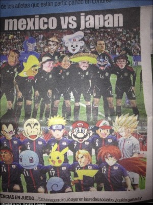 Found this in a mexican newspaper