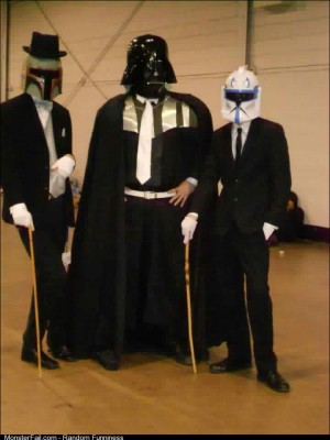 I present to you my con buddies Classy Star Wars