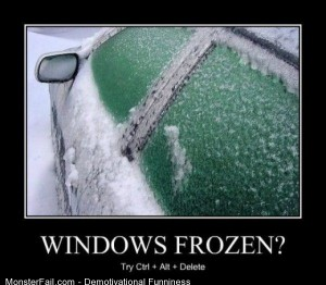 Windows Frozen