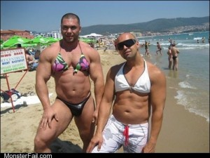 Fashion fail Poorly Dressed Looking Ripped Ladies