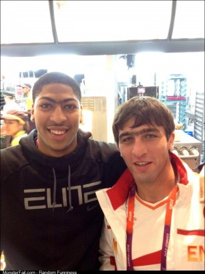 Olympic gold medal for unibrow goes to