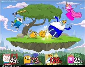 Adventure Smash Time Bros