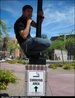 These anti smoking laws are getting