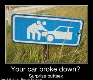 Your car broke down