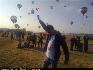 How to tell if an air balloon driver is drunk