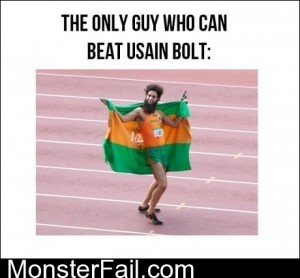 The Only Guy That Can Beat Usain Bolt
