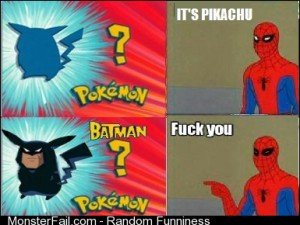 Spiderman vs Pokemon