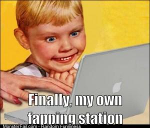 When I got my first laptop