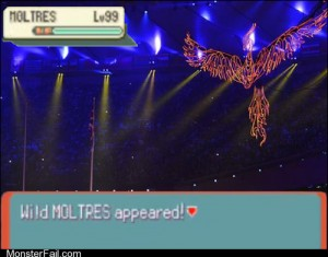 Moltres Used Sky Attack