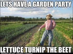 Lets have a garden party