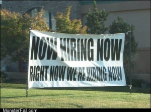 When are they hiring again