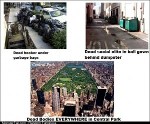 After watching a fair amount of Law and Order this is now how I view NYC