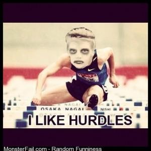 Lmao i like hurdles lmao