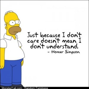 Homer how I feel about my job in customer service