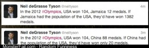 Neil deGrasse Tyson on the Olympics