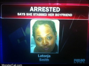 Monster fail Mugshot FAIL