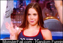 Mckayla Maroney on the Colbert report
