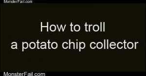 Potato chip collector