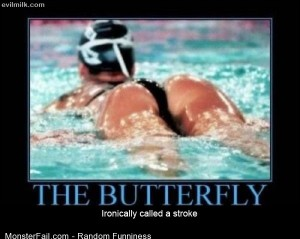 Funny Pics The Butterfly