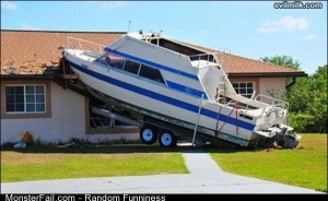 Funny Pics Great Boat Parking