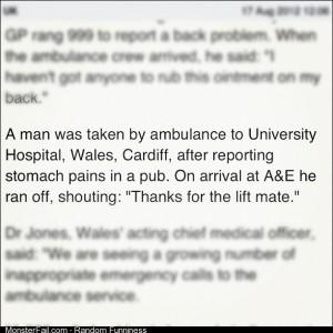 Ahh Wales Classy