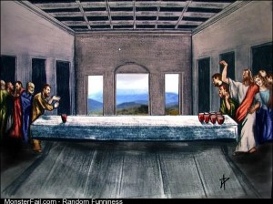 And the Lord said Let there be pong