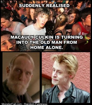 Is Macauly Culking a time traveler