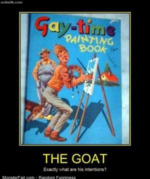 Funny Pics The Goat