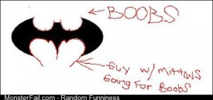 Oversexed Batman Logo