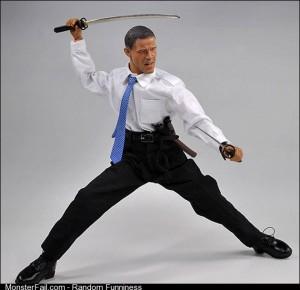 Japanese President Obama Toy