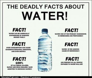 FACT water is the leading cause of drowning